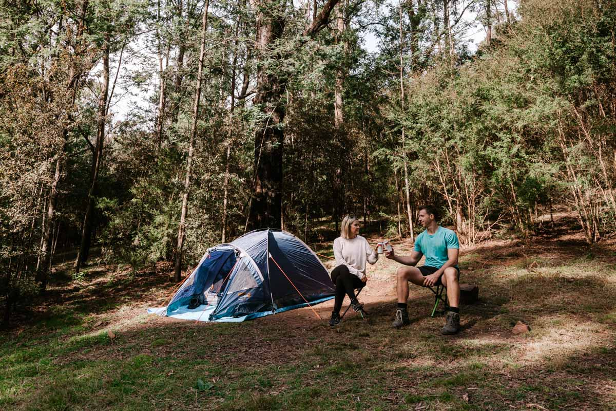 The Farmyard - Camping in the Cathedral Range