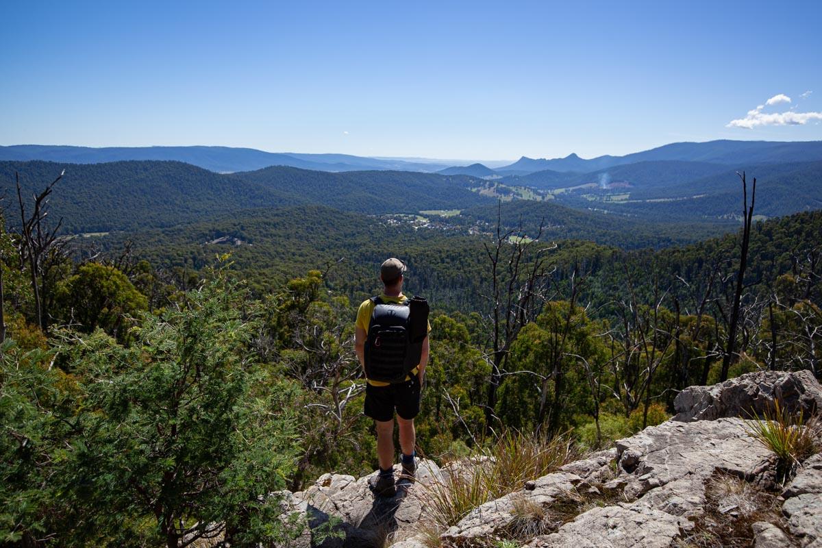 Keppel Lookout Trail views