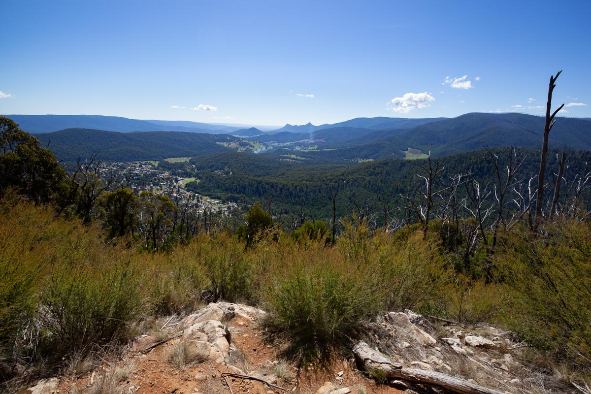 Keppel Lookout Trail - Oxley Lookout