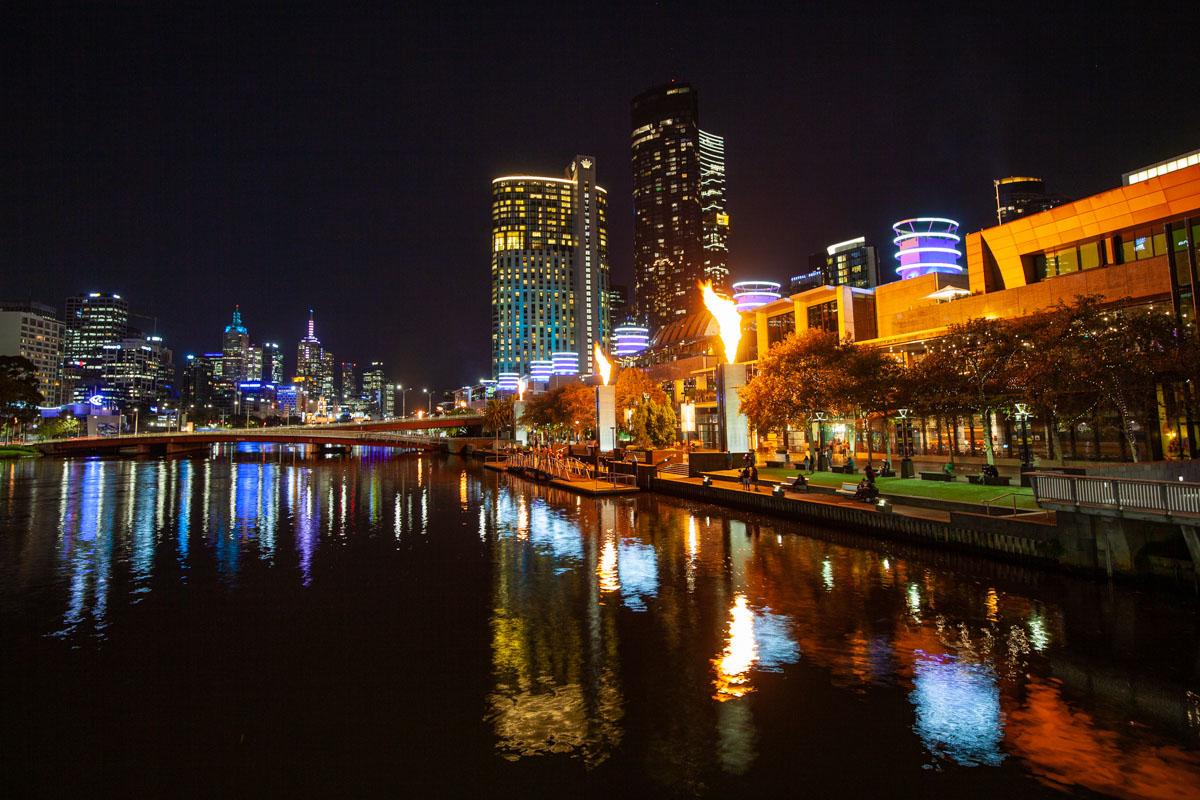 Crown Melbourne's Gas Brigade evening show