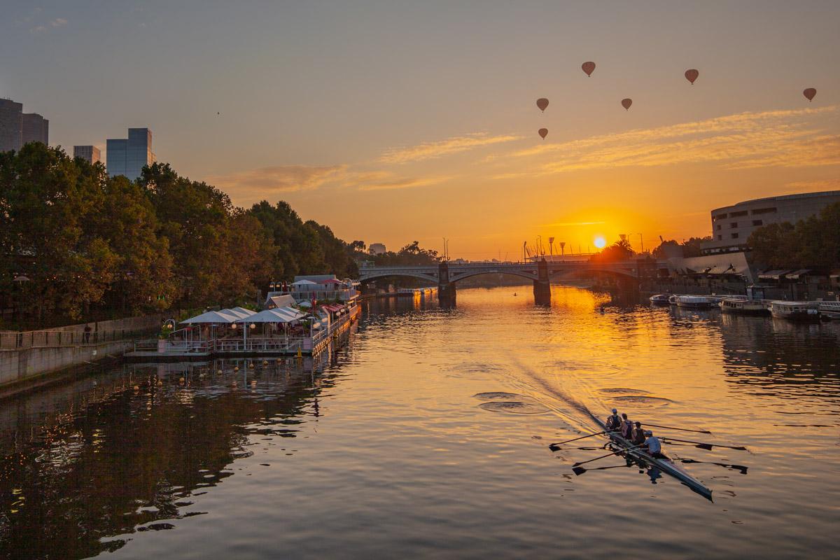 Best sunrise photography spots in Melbourne - Evan Walker Bridge