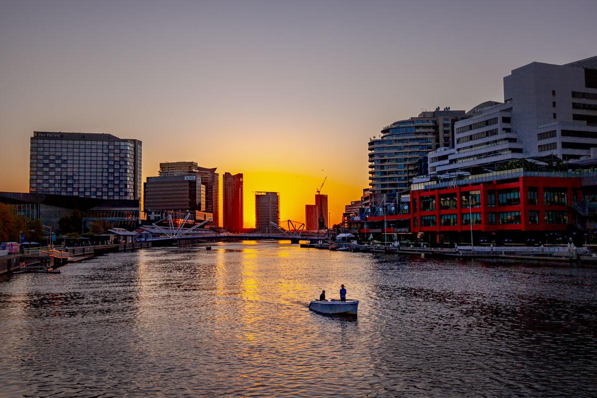 Spencer Street Bridge - Best photography sunset spots in Melbourne