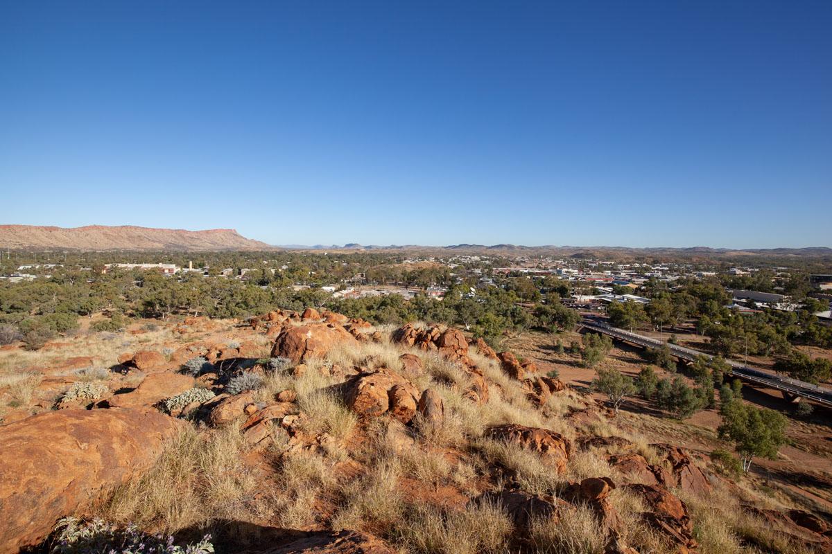 Views from Tharrarletneme (Annie Meyers Hill)