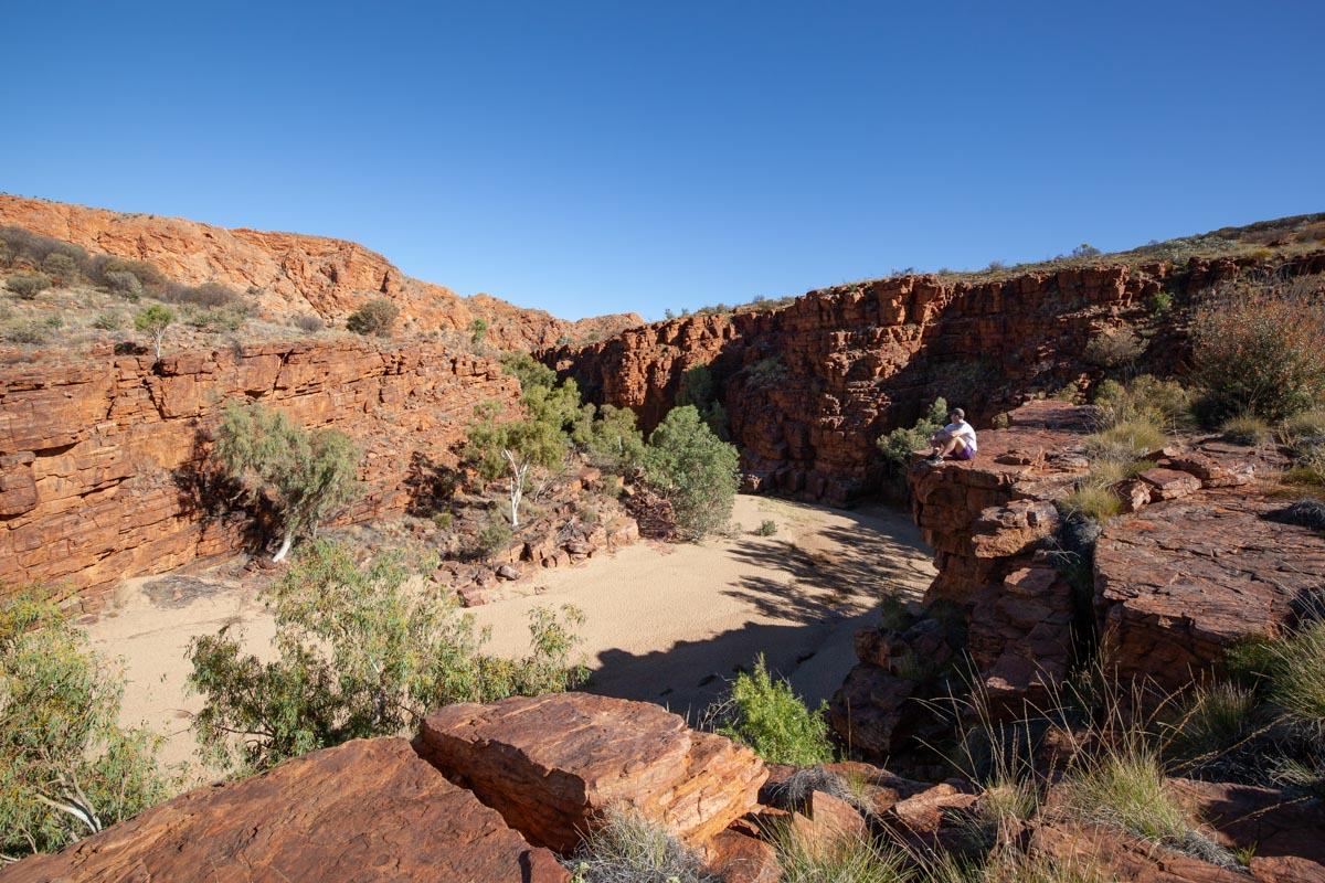 Hiking the Trephina Gorge Walk - East MacDonnell Ranges